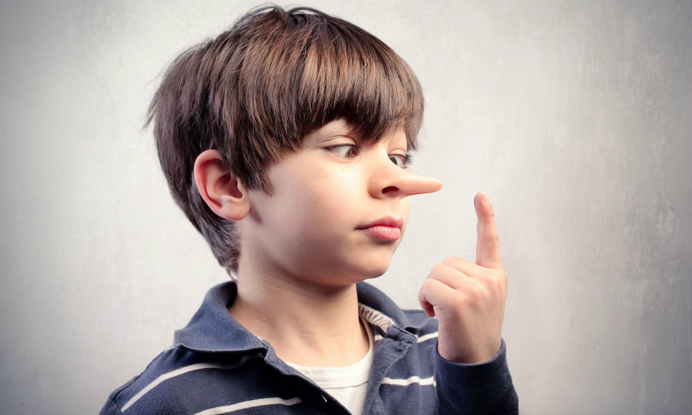 Картинка обман ребенка