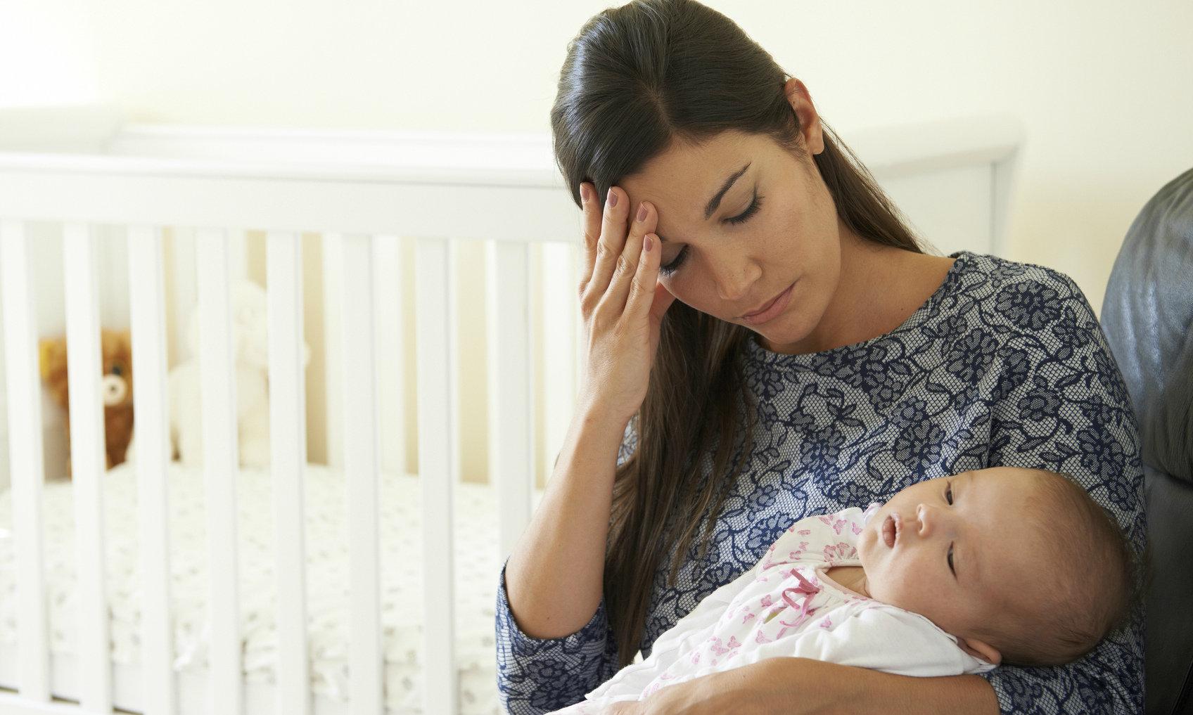 Фото больного ребенка с матерью