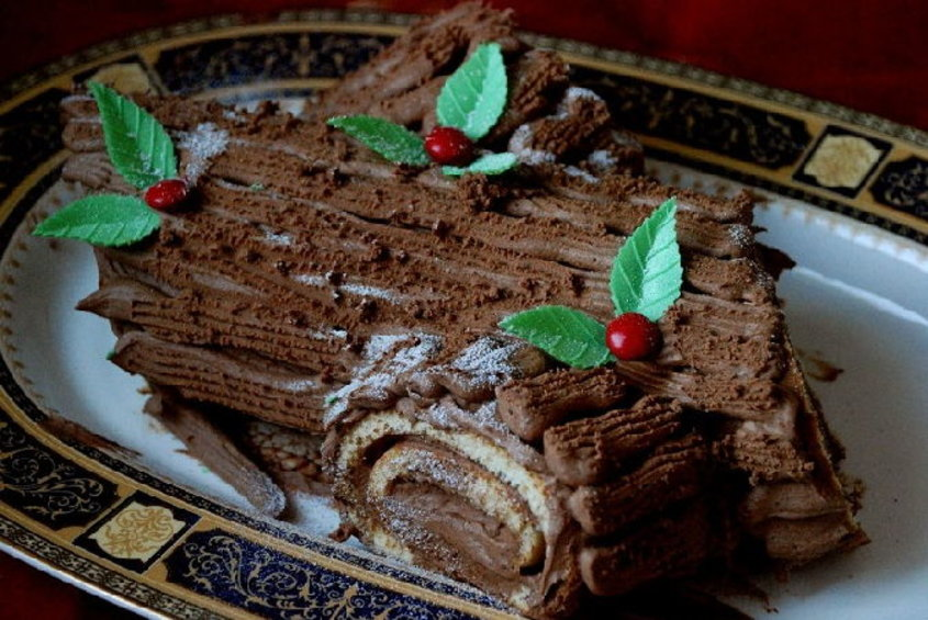 Рождественский торт рецепт фото