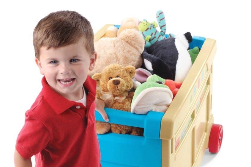 Как научить ребенка делиться игрушками